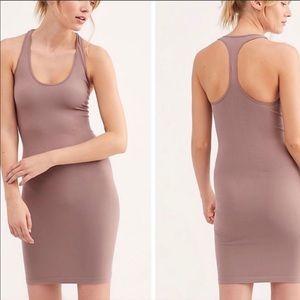 Free People racerback seamless slip dress